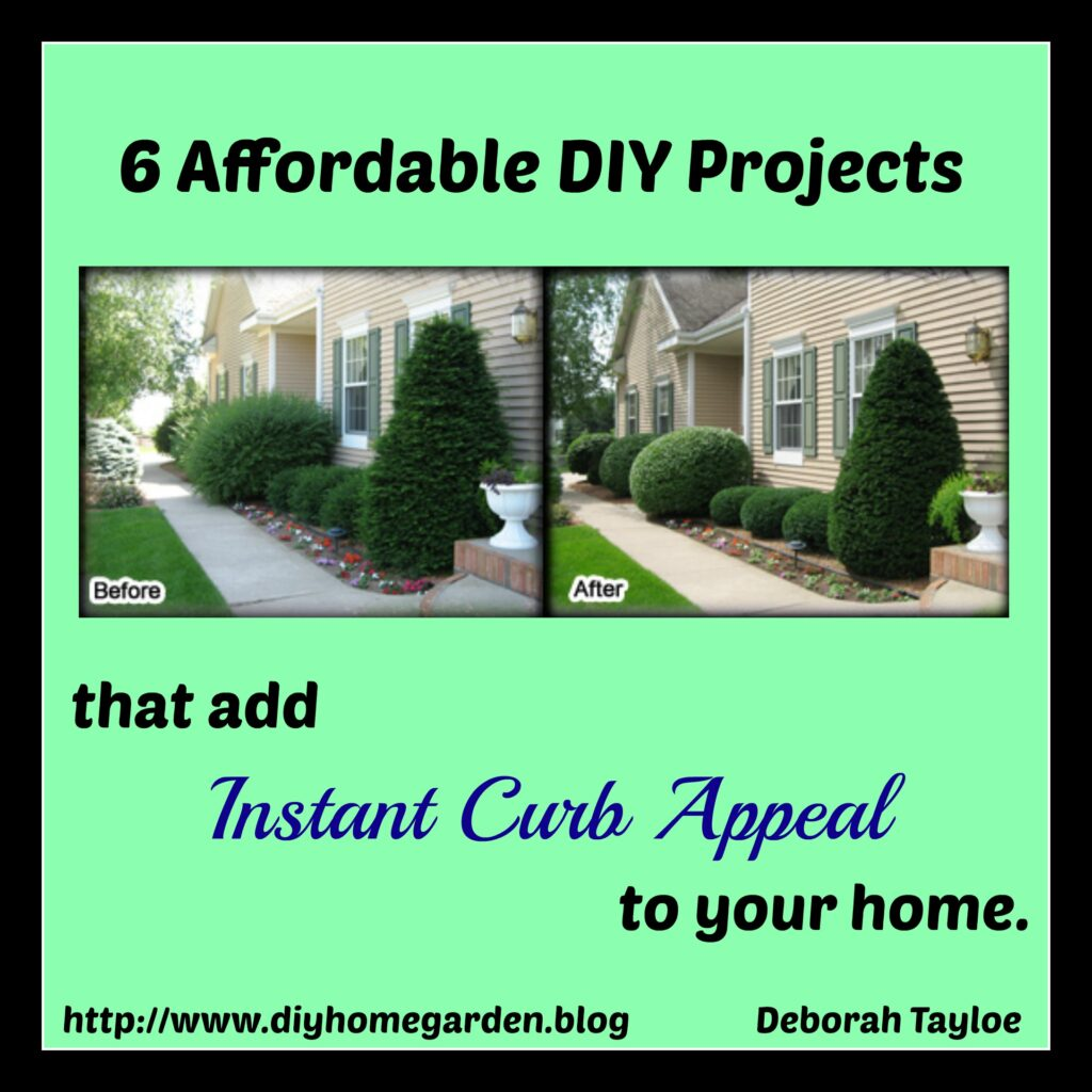 6 Affordable DIY Projects To Add Instant Curb Appeal To Your Home