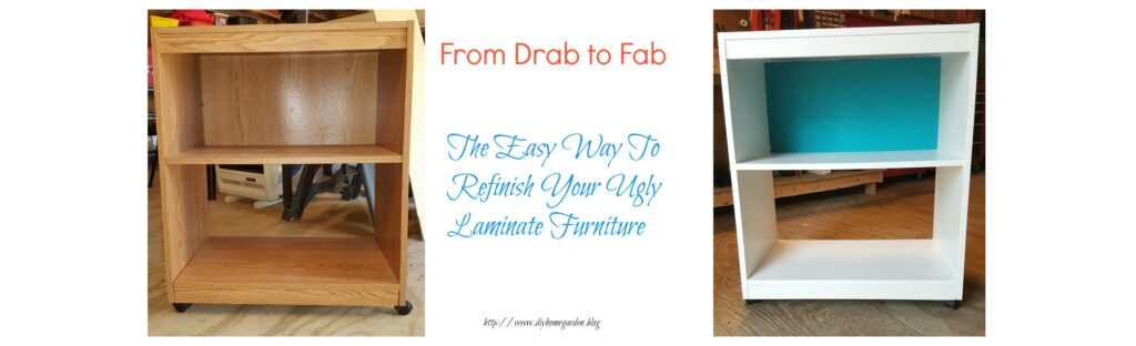 How To Refinish Laminate Furniture…  It's Easy To Do!