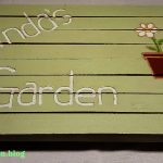 garden sign Mothers Day