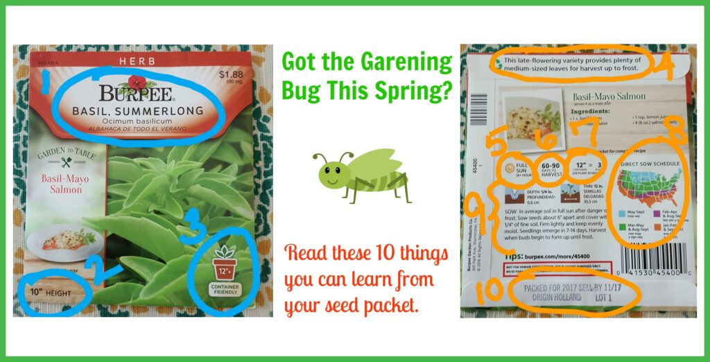 How To Garden: 10 Things You Can Learn From Your Seed Packet