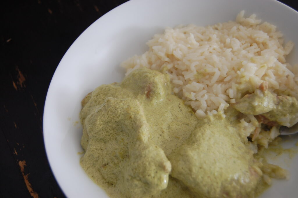 Chicken in Poblano Pepper Cream Recipe