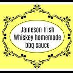 Jameson Irish Whiskey BBQ Sauce