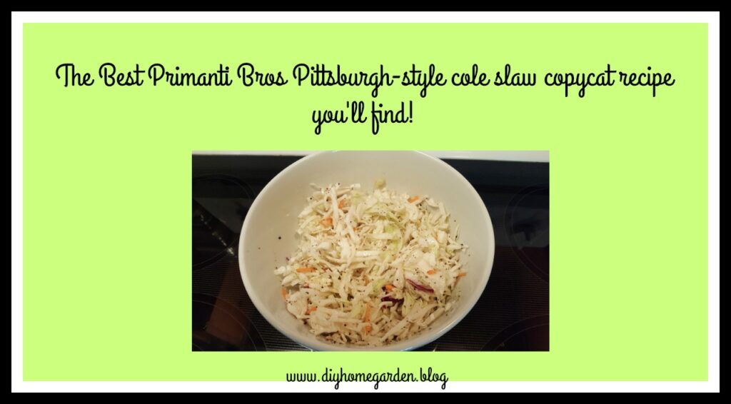 Primanti Bros Pittsburgh's Most Famous Cole Slaw