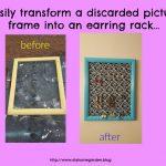 photo frame upcycle