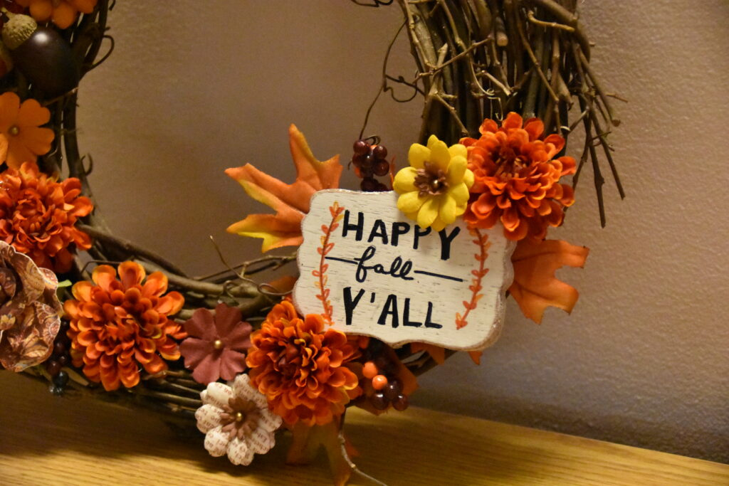 Fall for this Autumn Wreath: How To Make A Fall Wreath