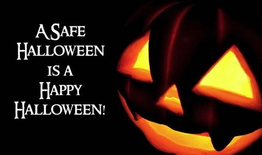 Happy Halloween Message: Safe Trick-or-Treating