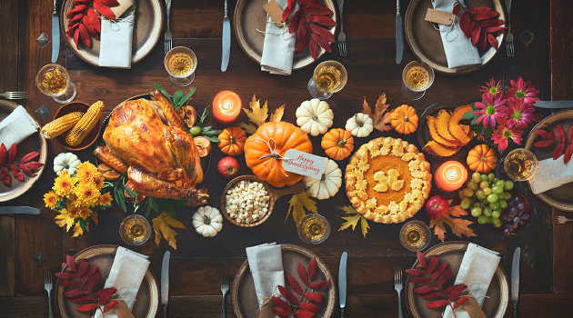 Thanksgiving Tablescape Inspirations