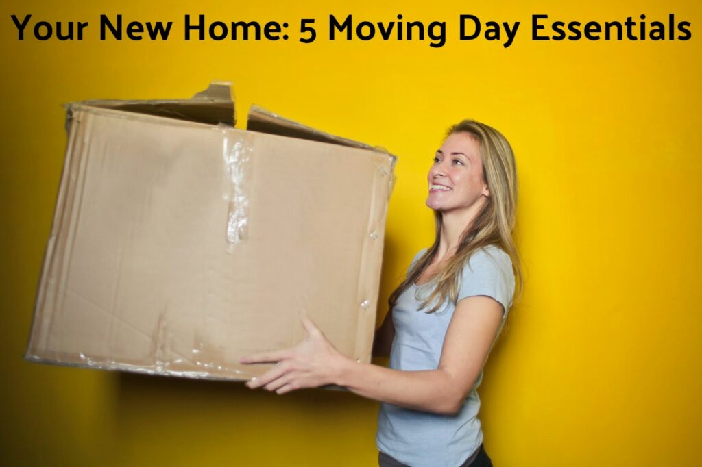 Your New Home: 5 Moving Day Essentials