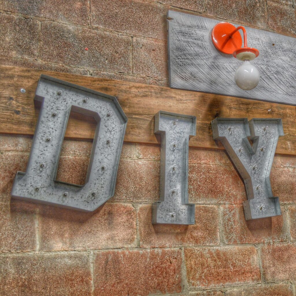 Some Things You Don't DIY