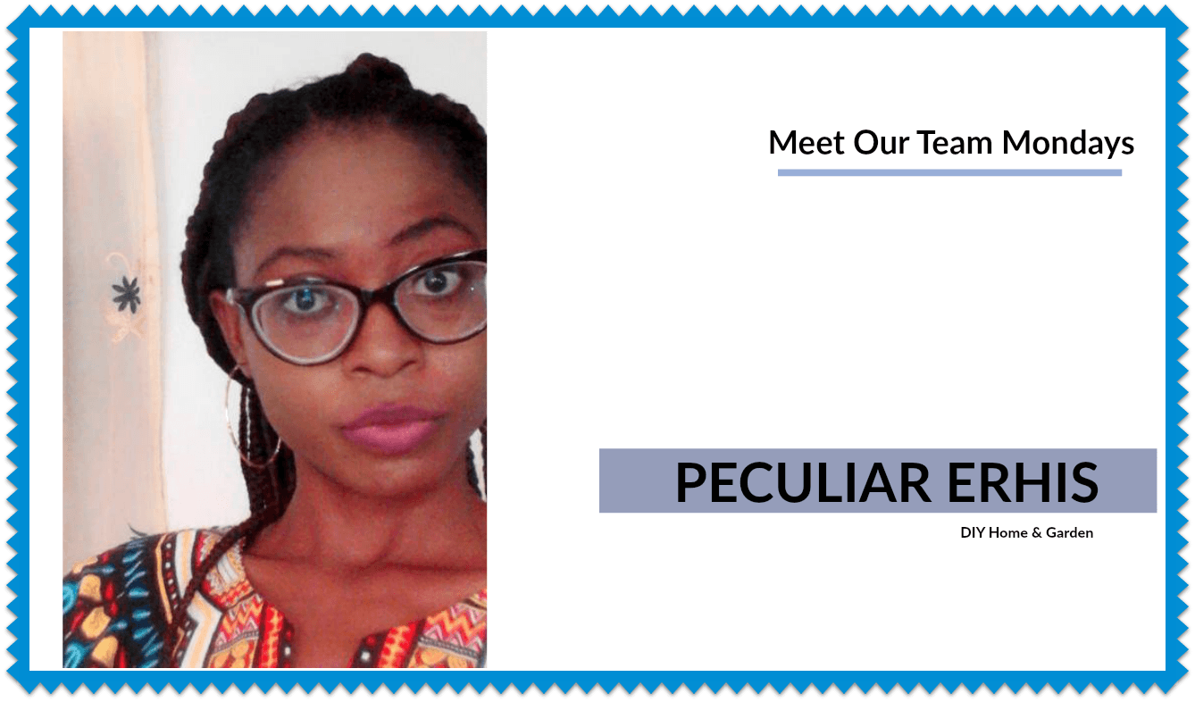 Meet Our Team Mondays: Peculiar Erhis