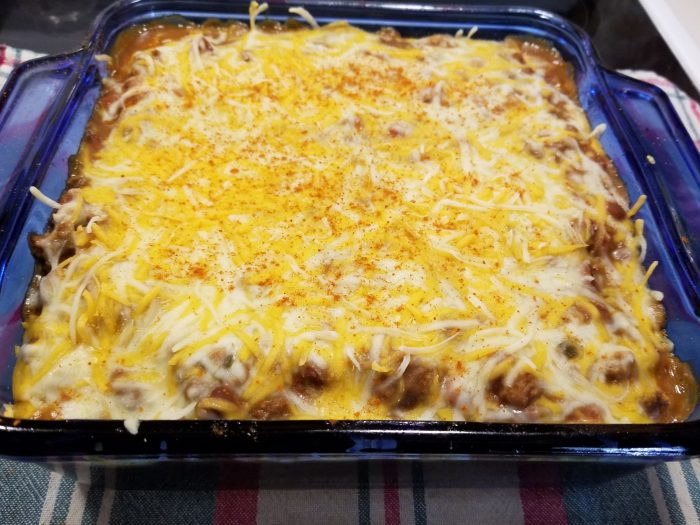 Hearty Deer Camp Casserole