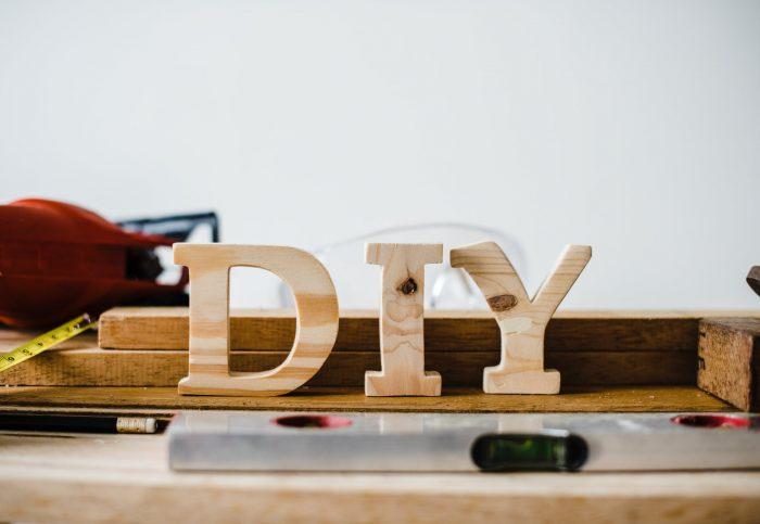 DIY sign