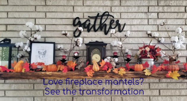 Love fireplace mantels? See this transformation