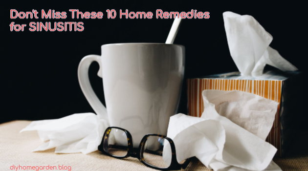 Don't Miss These 10 Home Remedies for Sinusitis