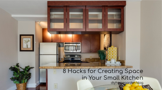 8 Hacks for Creating Space in Your Small Kitchen