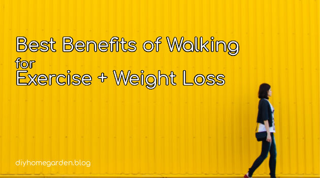 Best Benefits of Walking for Exercise + Weight Loss
