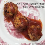 air fryer turkey meatball