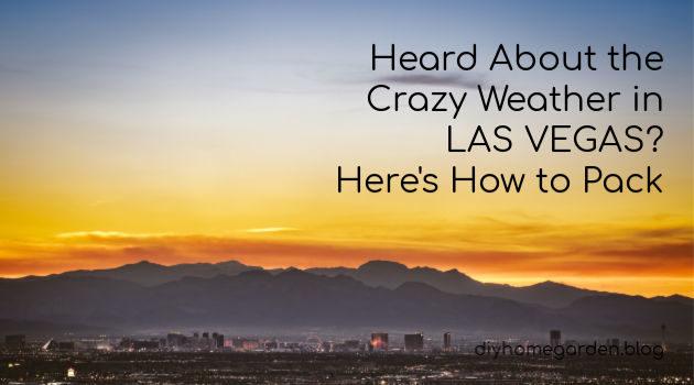 weather in Las Vegas