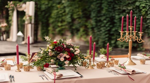 Gorgeous Themes for a Garden Wedding
