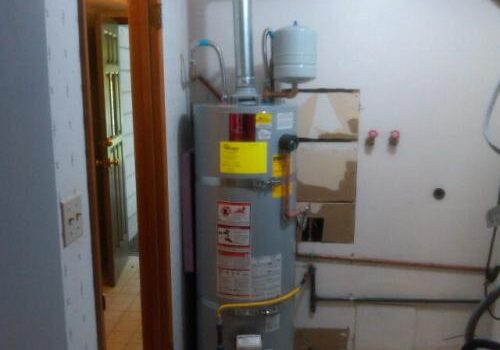 water heater recovery time