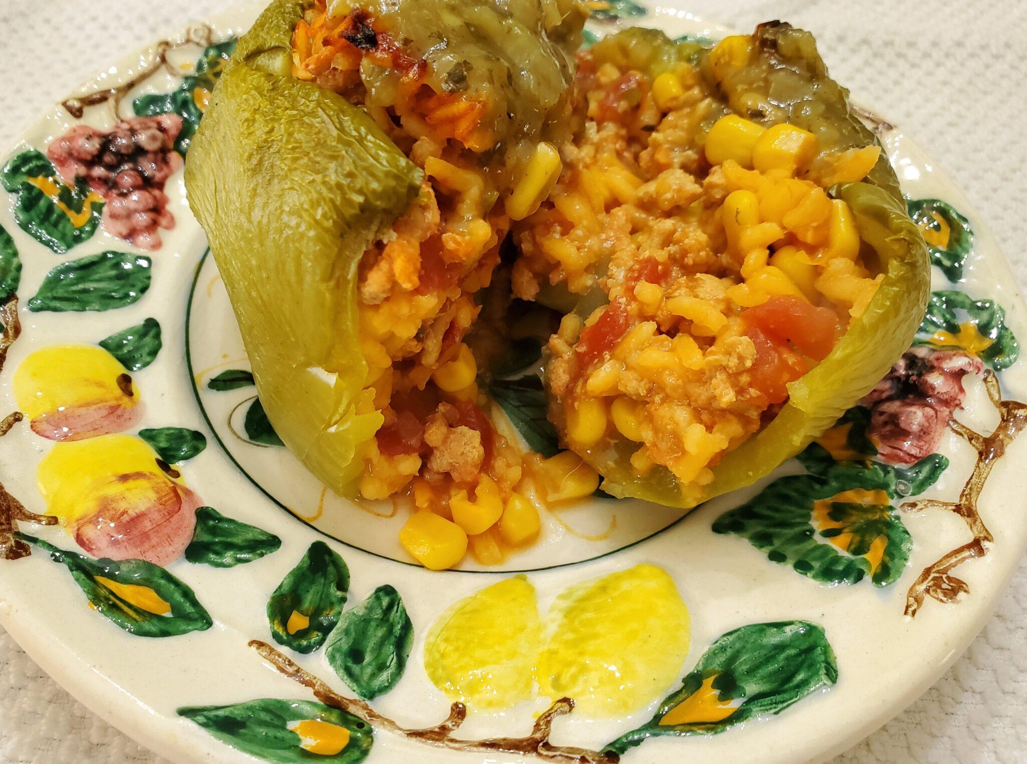 Turkey Taco Stuffed Peppers (1 WW SmartPoint)