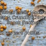 chickpea snack recipe