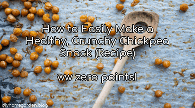 How to Easily Make a Healthy, Crunchy Chickpea Snack Recipe