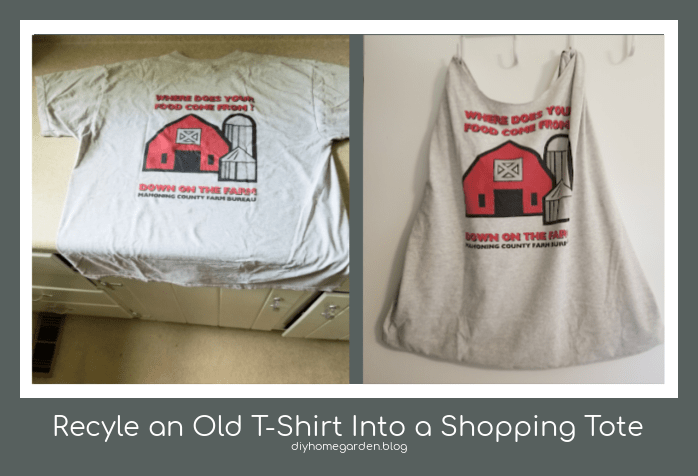 Recycle an Old T-Shirt Into a Shopping Tote in 5 Easy Steps