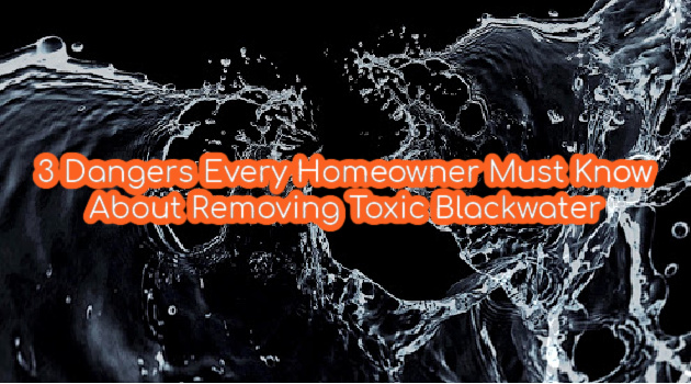 7 Dangers Every Homeowner Must Know About Removing Toxic Blackwater