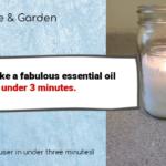 peppermint essential oil diffuser