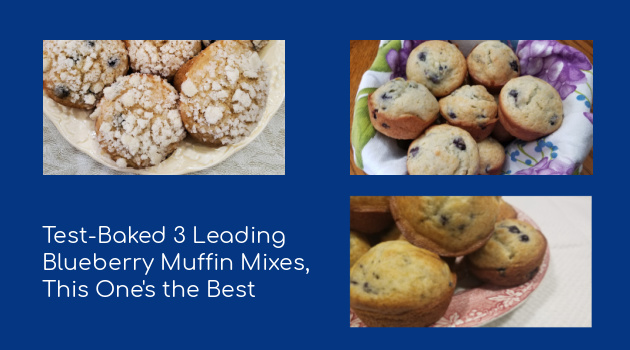 I Test-Baked 3 Leading Blueberry Muffin Mixes, This One's the Best