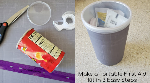 Make a Portable First Aid Kit in 3 Easy Steps