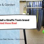 Giraffe Tools Wall-Mounted Hose Reel